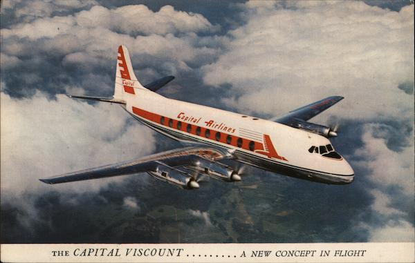 The Capital viscount...A New Concept in Flight Aircraft