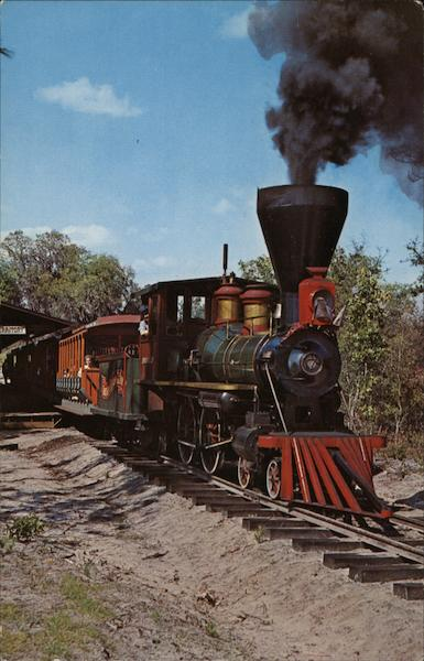 Little Toot Real Steam Train Silver Springs Florida