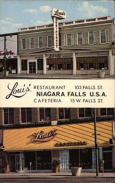 Louis' Restaurant Niagara Falls New York