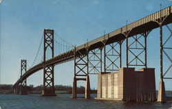 Mt. Hope Bridge Postcard