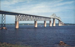 Jamestown Bridge Postcard
