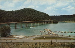 Youghiogheny Reservoir and Bridge