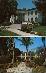 Clewiston Inn and Patio Garden Postcard