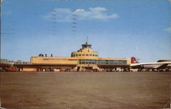 View of Midway Airport Postcard