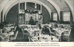Garden Room at Lowell Inn