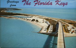Greetings From the Florida Keys Postcard