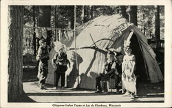 Chippewa Indian Tepee