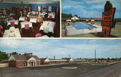 Belco Motor Court and Restaurant Postcard