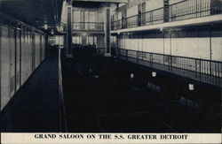 Grand Saloon on the S. S. Detroit