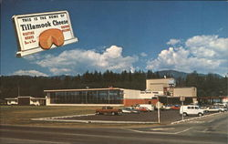 This is the Home of Tillamook Cheese