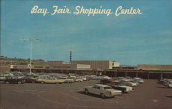 Bay Fair Shopping Center Postcard