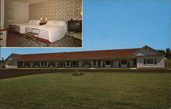 Lake View Motel Postcard