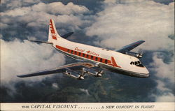 The Capital viscount...A New Concept in Flight