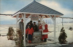 The Wishing Well at Christmas Park Postcard