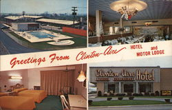 Greetings From Clinton-Aire Hotel and Motor Lodge