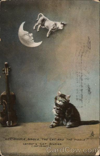 Hey Diddle Diddle, The Cat and The Fiddle Cats
