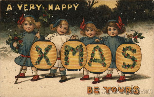 A Very Happy XMAS Be Yours Children