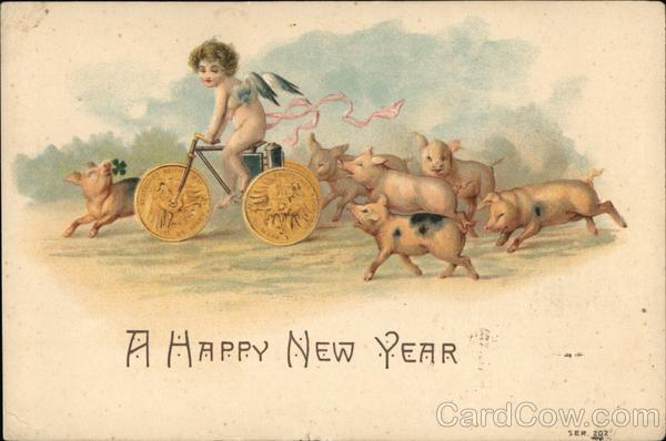 A Happy New Year Pigs