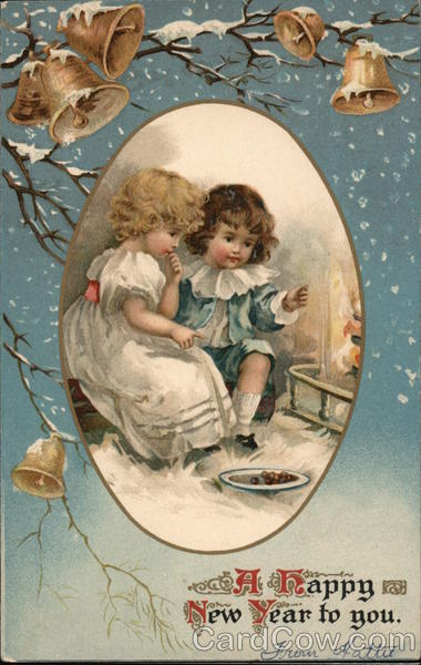 A Happy New Year to you. Ernest Nisher Children