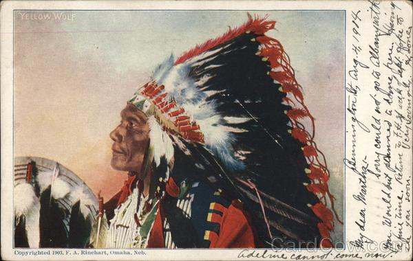 Chief Yellow Wolf Native Americana