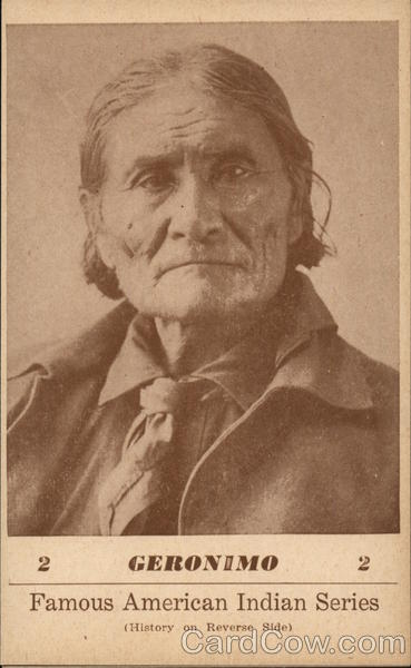 Famous American Indian Series - Geronimo Native Americana