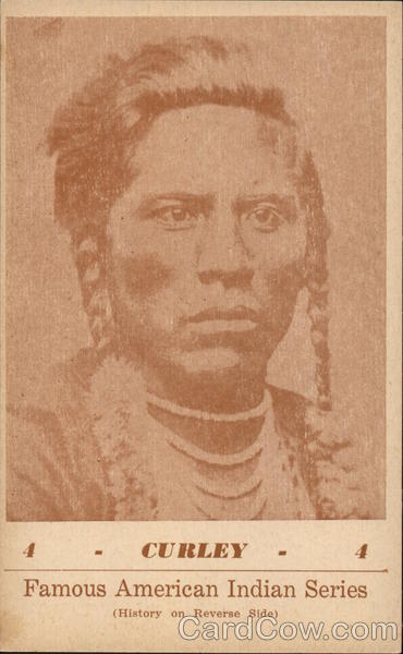 Famous American Indian Series - Curley G. I. Groves