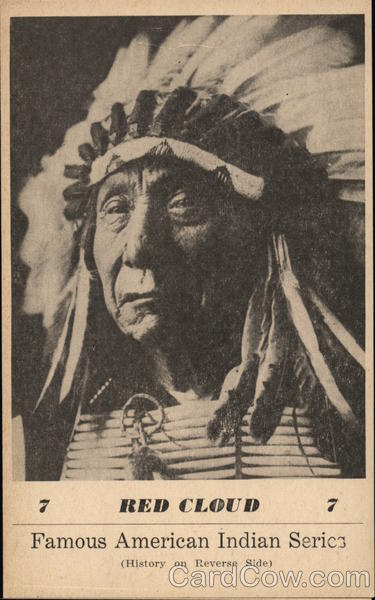 Famous American Indian Series - Red Cloud G. I. Groves