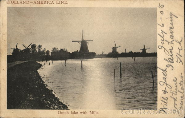 Holland--America Line Boats, Ships