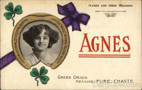 Names and Their Meaning - Agnes