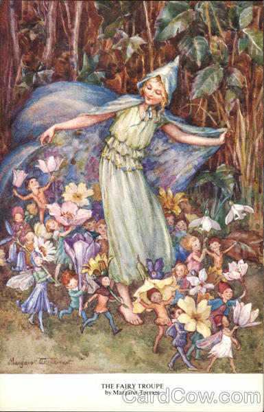 'The Fairy Troupe' by Margaret Tarrant Fantasy