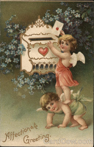 Affectionate Greeting Cupid