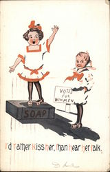 Votes for Wimmen - Suffrage
