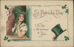 St Patrick's Day, The top o' the mornin' to You