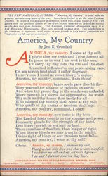America, My Country - By Jens K. Grondahl