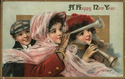 A Happy New Year Postcard