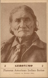 Famous American Indian Series - Geronimo