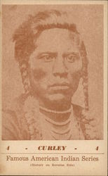 Famous American Indian Series - Curley