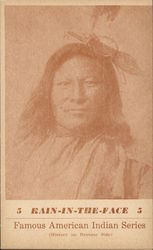 Famous American Indian Series - Rain In The Face
