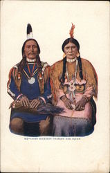 Chief Buckskin Charley and Squaw