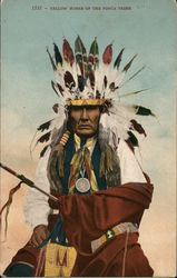Yellow Horse of the Ponca Tribe