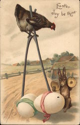 Easter Joy be thine - Chicken on Stilts