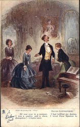 "In Dickens Land - Scene from ""David Copperfield"""