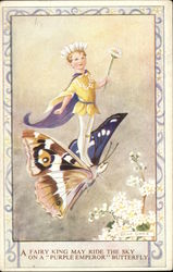Fairy Riding Butterfly