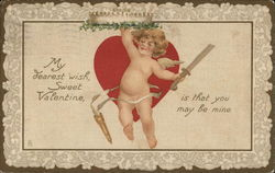 Cupid on Valentine's Day