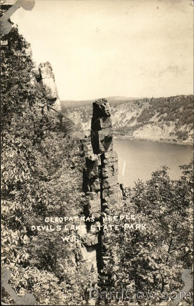 Cleopatra's Needle, Devil's Lake State Park Baraboo Wisconsin