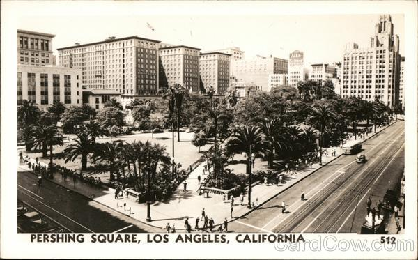 Pershing Square Los Angeles California