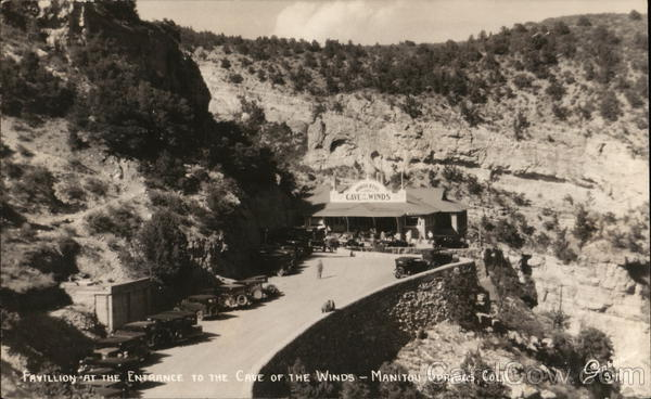 Pavilion at the Entrance to the Cave of the Winds Manitou Springs Colorado