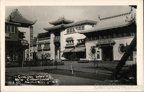 Ginling Way, New Chinatown Los Angeles California