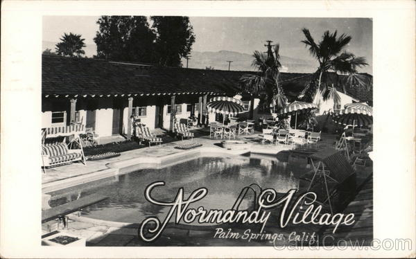 Normandy Village Palm Springs California