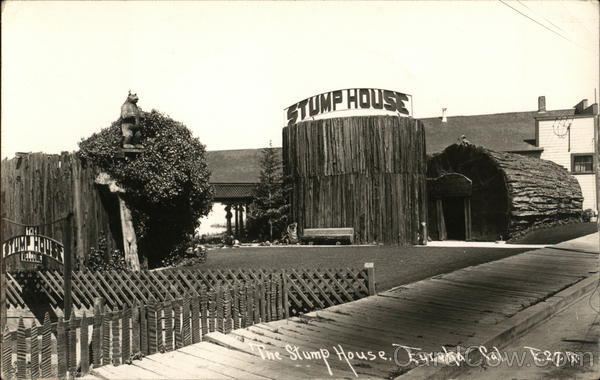 The Stump House Eureka California